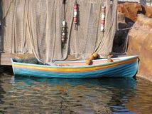 Κωπηλατώντας βάρκα Στοκ φωτογραφία με δικαίωμα ελεύθερης χρήσης