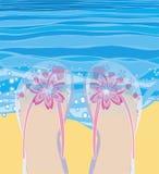 κωπηλατώντας θάλασσα Στοκ Εικόνες
