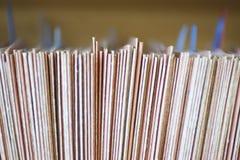 Κωδικοποιημένο χρώμα σύστημα αρχειοθέτησης για τους φακέλλους Στοκ εικόνες με δικαίωμα ελεύθερης χρήσης