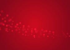 κόκκινα αστέρια γοητείας ανασκόπησης Στοκ εικόνα με δικαίωμα ελεύθερης χρήσης