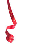 κόκκινα αστέρια κορδελ&lambd Στοκ Εικόνα