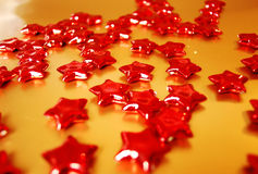 κόκκινα αστέρια Στοκ Εικόνα