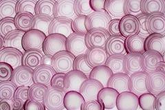Κόκκινα δαχτυλίδια κρεμμυδιών Στοκ φωτογραφίες με δικαίωμα ελεύθερης χρήσης
