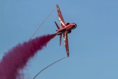 Κόκκινα βέλη - ζευγάρι Syncro Στοκ Φωτογραφίες