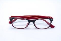 Κόκκινα γυαλιά 02 Στοκ Εικόνα