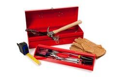 κόκκινα εργαλεία εργαλ Στοκ Φωτογραφία