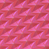 Κόκκινα ιώδη αφηρημένα αστέρια - σχέδιο επιφάνειας ανακούφισης - τετραγωνικό υπόβαθρο Στοκ Φωτογραφίες