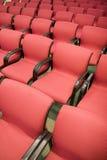 κόκκινα καθίσματα Στοκ εικόνα με δικαίωμα ελεύθερης χρήσης