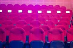 κόκκινα καθίσματα Στοκ Εικόνες