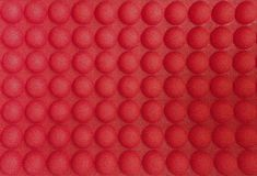 Κόκκινα κατασκευασμένα κομμάτια Στοκ φωτογραφία με δικαίωμα ελεύθερης χρήσης