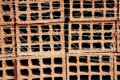 κόκκινα κεραμίδια σύστασ&e Στοκ εικόνες με δικαίωμα ελεύθερης χρήσης