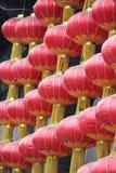 Κόκκινα κινεζικά φανάρια, Κίνα Στοκ Εικόνα