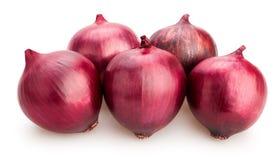Κόκκινα κρεμμύδια Στοκ εικόνα με δικαίωμα ελεύθερης χρήσης