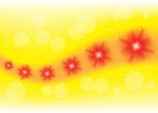 Κόκκινα λουλούδια ελεύθερη απεικόνιση δικαιώματος