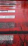 κόκκινα λωρίδες Στοκ εικόνες με δικαίωμα ελεύθερης χρήσης