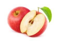 Κόκκινα μήλα Στοκ Φωτογραφίες