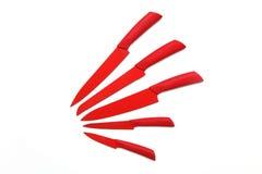 Κόκκινα μαχαίρια Στοκ Φωτογραφία