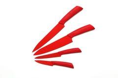 Κόκκινα μαχαίρια Στοκ Εικόνα