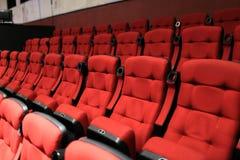 Κόκκινα μαλακά καθίσματα Στοκ φωτογραφίες με δικαίωμα ελεύθερης χρήσης
