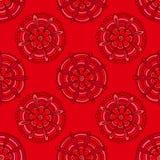 Κόκκινα λουλούδια Στοκ Φωτογραφίες