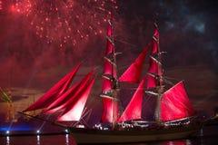 κόκκινα πανιά Στοκ εικόνα με δικαίωμα ελεύθερης χρήσης