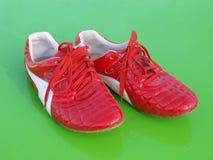 κόκκινα παπούτσια Στοκ εικόνες με δικαίωμα ελεύθερης χρήσης