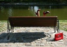 Κόκκινα παπούτσια Στοκ εικόνα με δικαίωμα ελεύθερης χρήσης