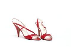 κόκκινα παπούτσια Στοκ φωτογραφία με δικαίωμα ελεύθερης χρήσης