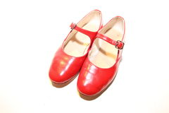 κόκκινα παπούτσια Στοκ Εικόνα