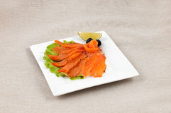 Κόκκινα παστά ψάρια στοκ φωτογραφίες με δικαίωμα ελεύθερης χρήσης