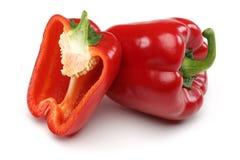 Κόκκινα πιπέρια κουδουνιών Στοκ εικόνα με δικαίωμα ελεύθερης χρήσης