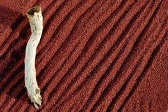 κόκκινα ραβδιά άμμου ανασ&kap Στοκ φωτογραφίες με δικαίωμα ελεύθερης χρήσης