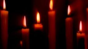 Κόκκινα, ρομαντικά κεριά φιλμ μικρού μήκους