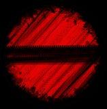 Κόκκινα σημάδια ροδών Στοκ Εικόνες