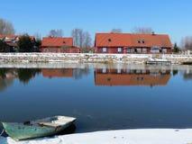 Όμορφα σπίτια Στοκ εικόνες με δικαίωμα ελεύθερης χρήσης