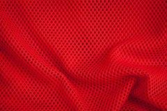 Κόκκινα σύσταση και υπόβαθρο διχτυών ψαρέματος Στοκ Φωτογραφίες