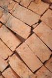 Κόκκινα τούβλα Στοκ φωτογραφία με δικαίωμα ελεύθερης χρήσης