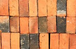 Κόκκινα τούβλα Στοκ εικόνα με δικαίωμα ελεύθερης χρήσης
