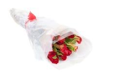 κόκκινα τριαντάφυλλα ανθοδεσμών κίτρινα Στοκ φωτογραφία με δικαίωμα ελεύθερης χρήσης