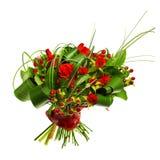 κόκκινα τριαντάφυλλα ανθοδεσμών Στοκ φωτογραφία με δικαίωμα ελεύθερης χρήσης