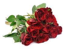 κόκκινα τριαντάφυλλα ανθοδεσμών Στοκ εικόνες με δικαίωμα ελεύθερης χρήσης