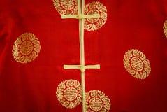 Κόκκινα υφαντικά σύσταση και υπόβαθρο υφάσματος Στοκ εικόνες με δικαίωμα ελεύθερης χρήσης