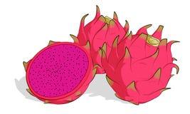 κόκκινα φρούτα δράκων 3 (2) Στοκ Φωτογραφία