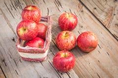 Κόκκινα φρούτα της Apple Στοκ φωτογραφία με δικαίωμα ελεύθερης χρήσης