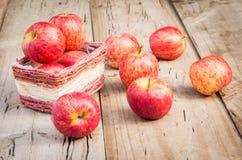 Κόκκινα φρούτα της Apple Στοκ εικόνες με δικαίωμα ελεύθερης χρήσης