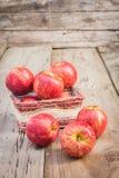 Κόκκινα φρούτα της Apple Στοκ φωτογραφίες με δικαίωμα ελεύθερης χρήσης