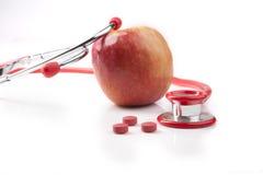 Κόκκινα χάπια Στοκ εικόνες με δικαίωμα ελεύθερης χρήσης