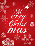 Κόκκινα Χριστούγεννα Στοκ Φωτογραφίες