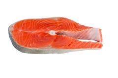 Κόκκινα ψάρια μπριζόλας σολομών Στοκ Εικόνες