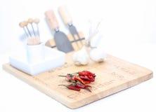 Κόκκινα ψυχρά πιπέρια Στοκ Εικόνα
